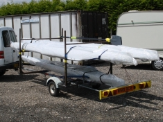 Rowing Boat Trailer - click to enlarge