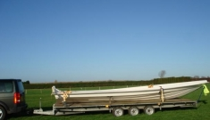 Flatbed Boat Trailer - click to enlarge