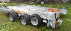 Twin Axle Car Transporter Trailer - click to enlarge