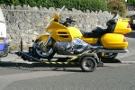 Motorcycle Trailer - click to enlarge